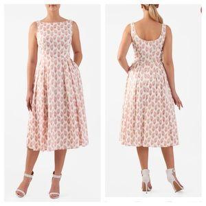 Eshakti Emma Pineapple Print Dress