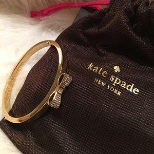 Kate Spade bow bracelet NEW