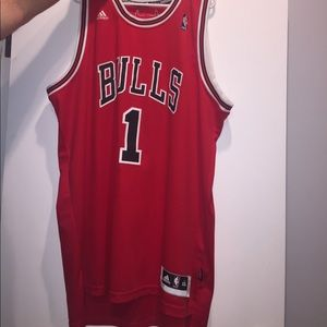 "Authentic Men's ""Rose"" Chicago Bulls Jersey"