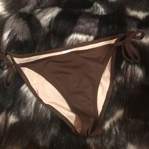 Other - Brown Bikini Bottom Size Small
