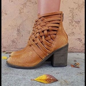 New! FREE PEOPLE Carrera Ankle Boot!