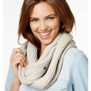 BCBGeneration Back to Basics Infinity Scarf Gray