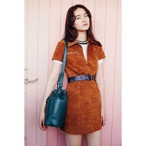 Urban Outfitters Ecote suede mini dress NWT