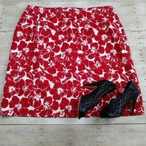 NWOT Plus Size Talbots Pique Pencil Skirt Size 20W