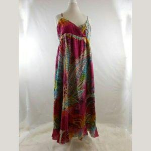 Seventh Avenue Print Sun Dress Sz Xlarge