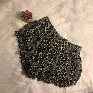F21 Tribal Shorts