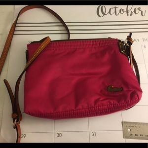 Dooney & Bourke small nylon pink/magenta purse