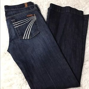 7 for all mankind Dojo jeans size 26x30