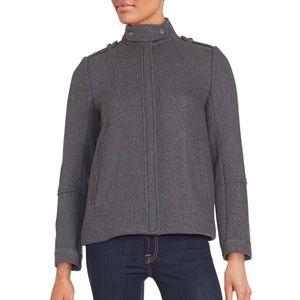 VINCE Women Twill Jacket Pea Coat $625 (NWT)