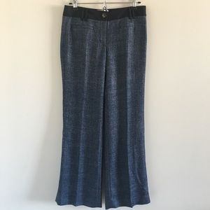 Anthro Elevenses Brighton Tweed Trousers Sz 4