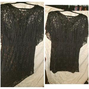 Dresses & Skirts - 2x black lace dress