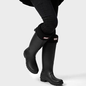 Hunter Women's Original Tall Rain Boots Black