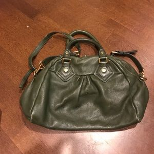 Marc Jacobs cross body bag olive green