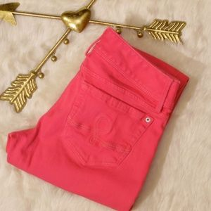 Lilly Pulitzer Worth Straight Jeans in Pink