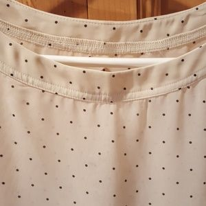 American Apparel sheer blouse Size S