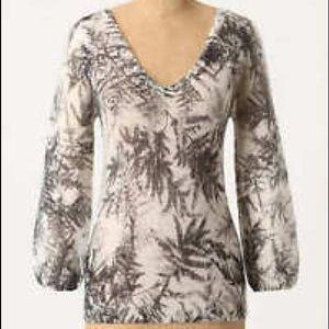 Anthropologie Guinevere Woodland Haze Sweater