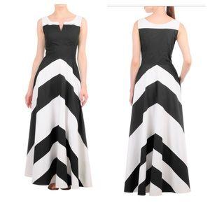 Eshakti Chevron Dress