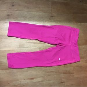 Nike Capri Pink Leggings