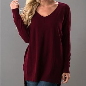 🆕 NWT uper Soft V Neck Sweater Dreamers By Debut