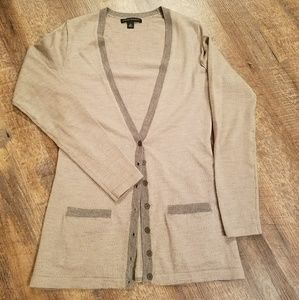 Banana Republic Merino Wool Cardigan