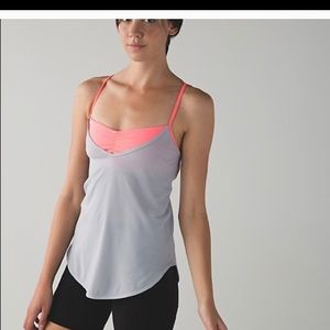 Lululemon roll out tank size 2