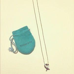 Tiffany & Co Sterling silver heart pendant