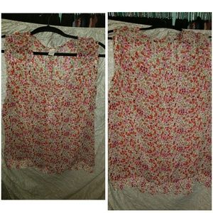 Old navy XXL floral top