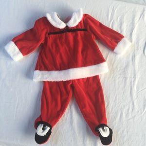 Christmas Outfit Santa Suit 6 - 9 months