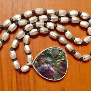 Beautiful Labradorite Stone Necklace