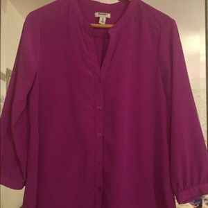 Old Navy 3/4 Sleeve Blouse