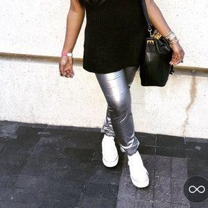Pants - Silver pants