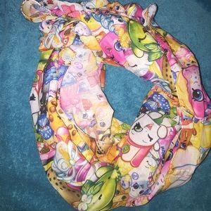 Shopkins infinity scarf