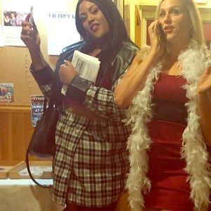 Dionne Davenport Halloween costume plus size