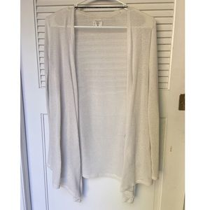 Volcom Knitted White Cardigan Size XS