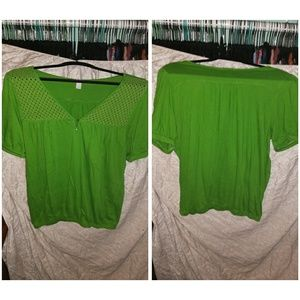 Old navy XL green top