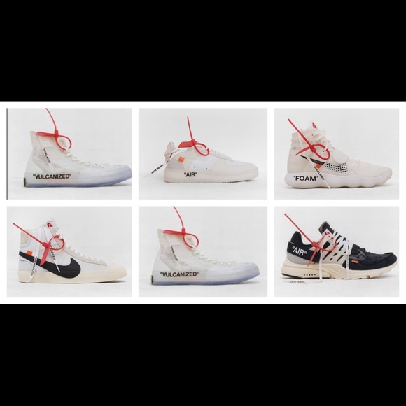 25199377166f Off-White Shoes | Offwhite Red Zip Ties Virgil Abloh No | Poshmark