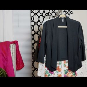 Target Mossimo Buttonless Cropped Jacket