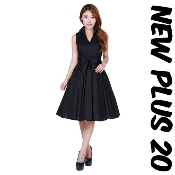 Pin Up Vintage Girl Clothing Dress Plus Size 20 Poshmark