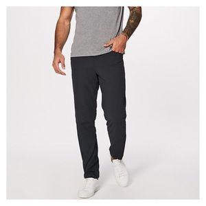 Men's LuluLemon Black ABC AntiBallCrushing Pant 36