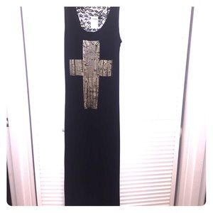 Charlotte Russe black maxi dress