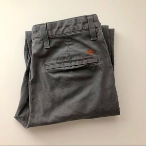 Dockers D2 Straight-Fit Flat-Front Pants 33x30