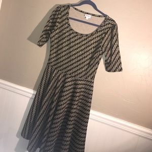 LuLaRoe Elegant Holiday Collection Nicole NWOT