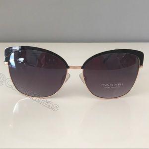 Tahari Sleek Everyday CatEye Sunglasses