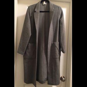 H&M Long Grey Winter Coat