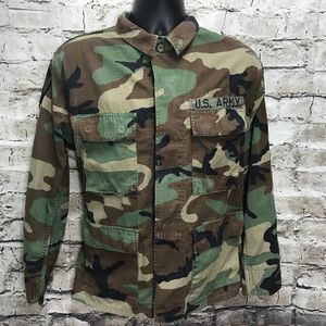 Other - U.S. Army Shirt Camouflage Short Halloween