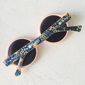 • rifle paper co x lesportsac • pink sunglasses