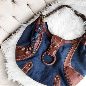 Isabella fiore blue bag