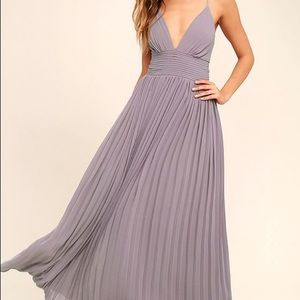 Lulu's Depths of my love purple maxi dress