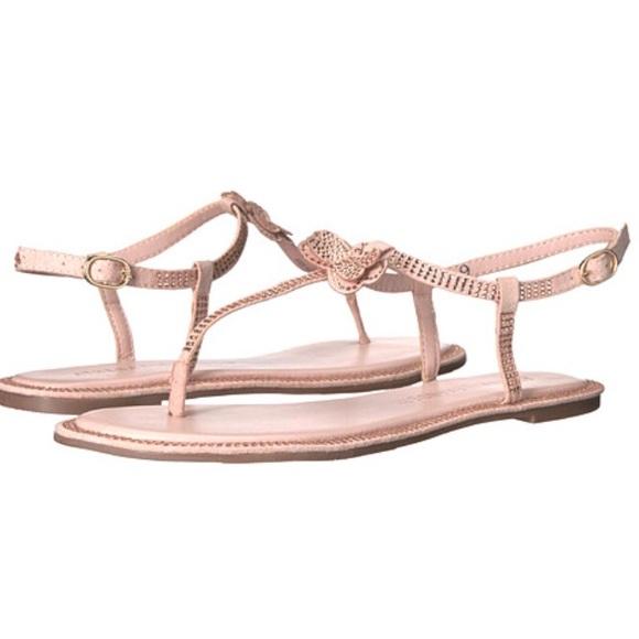 4c169bcdc7ad3 Athena Alexander 'graceful' blush pink sandals NWT