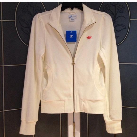 Adidas Missy Elliot Respect Me velour jacket